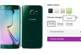 Green Emerald S6 Edge