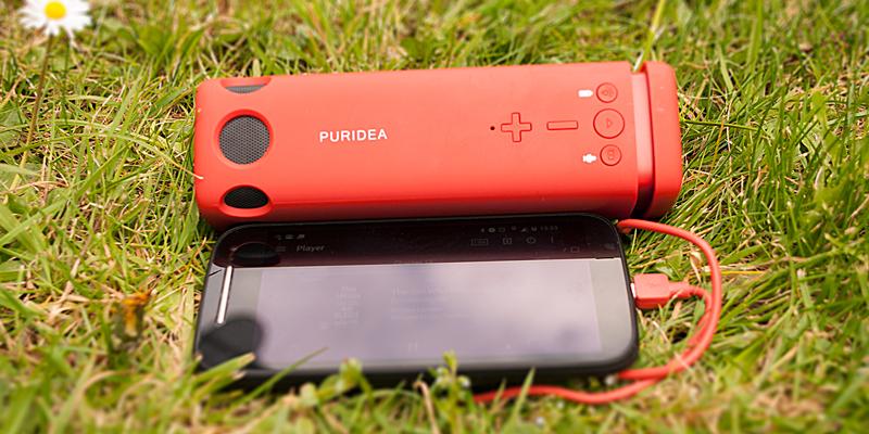 Puridea Powerbank and Bluetooth Speaker