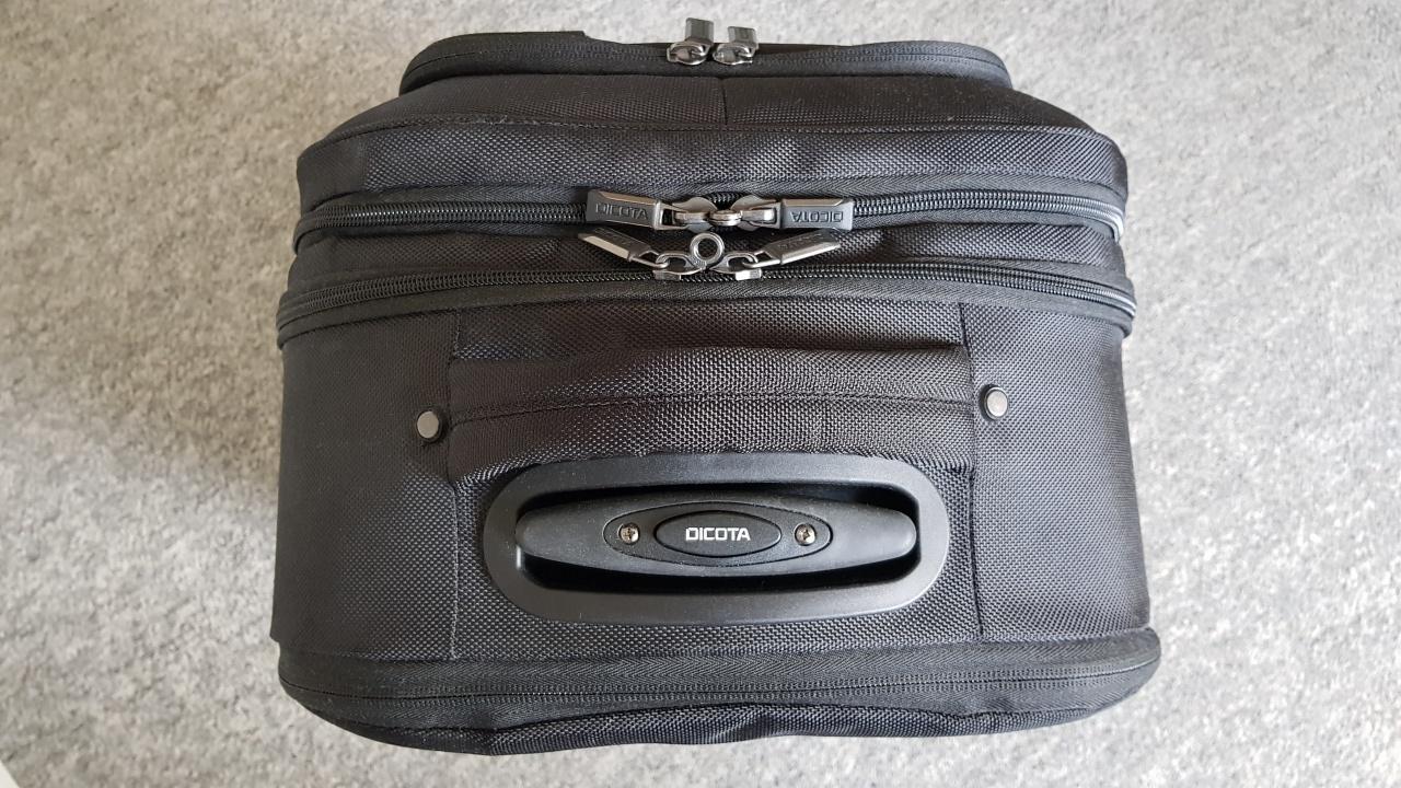 dicota backpack roller pro notebook-rucksack