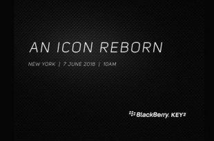 BlackBerry KEY2 Launch