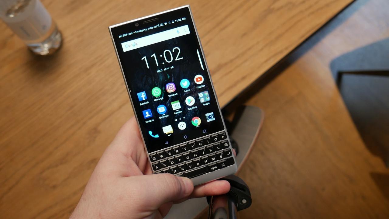BlackBerry KEY2 Hands-on