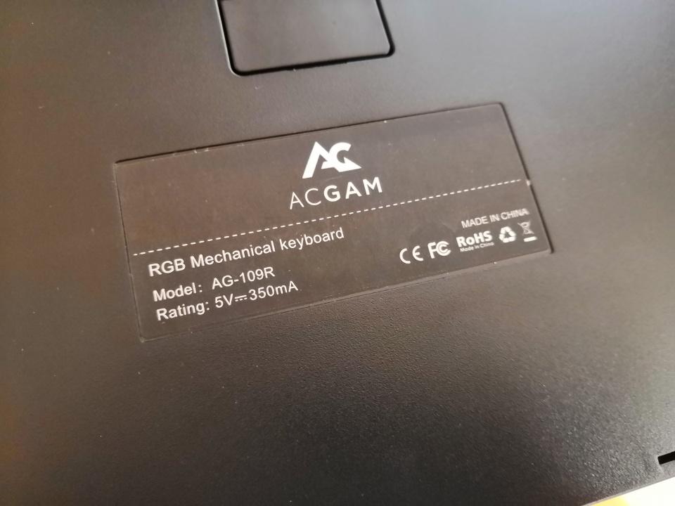 ACGAM 109RGB