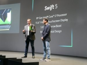 Acer's new Swift 5 and Swift 7 Use Intel 8th Gen refresh