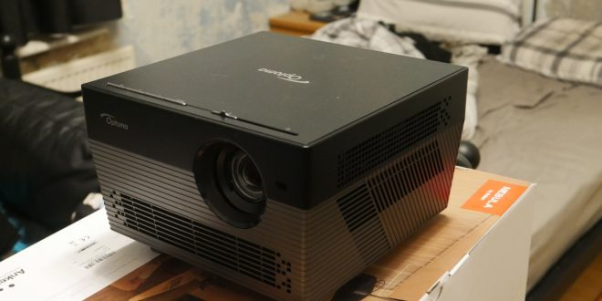 Optoma UHL55 Review: Alexa, Turn On My Projector.