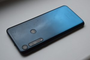 Rear of phone