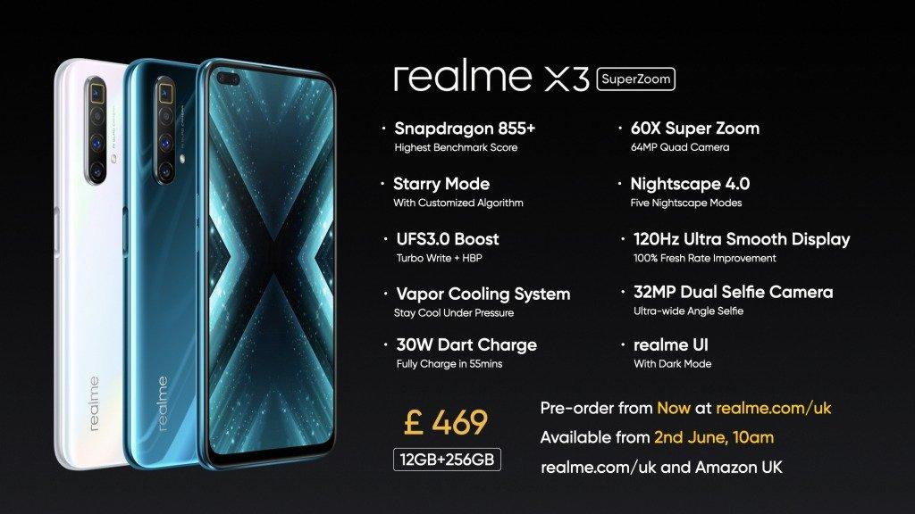 Realme X3 Superzoom Launch