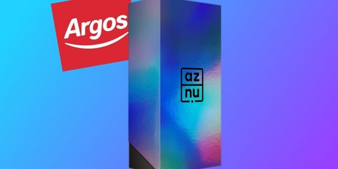 Aznu launches in the UK – Available from Argos