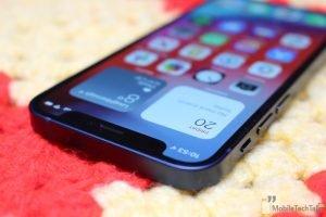 iPhone 12 Mini notch