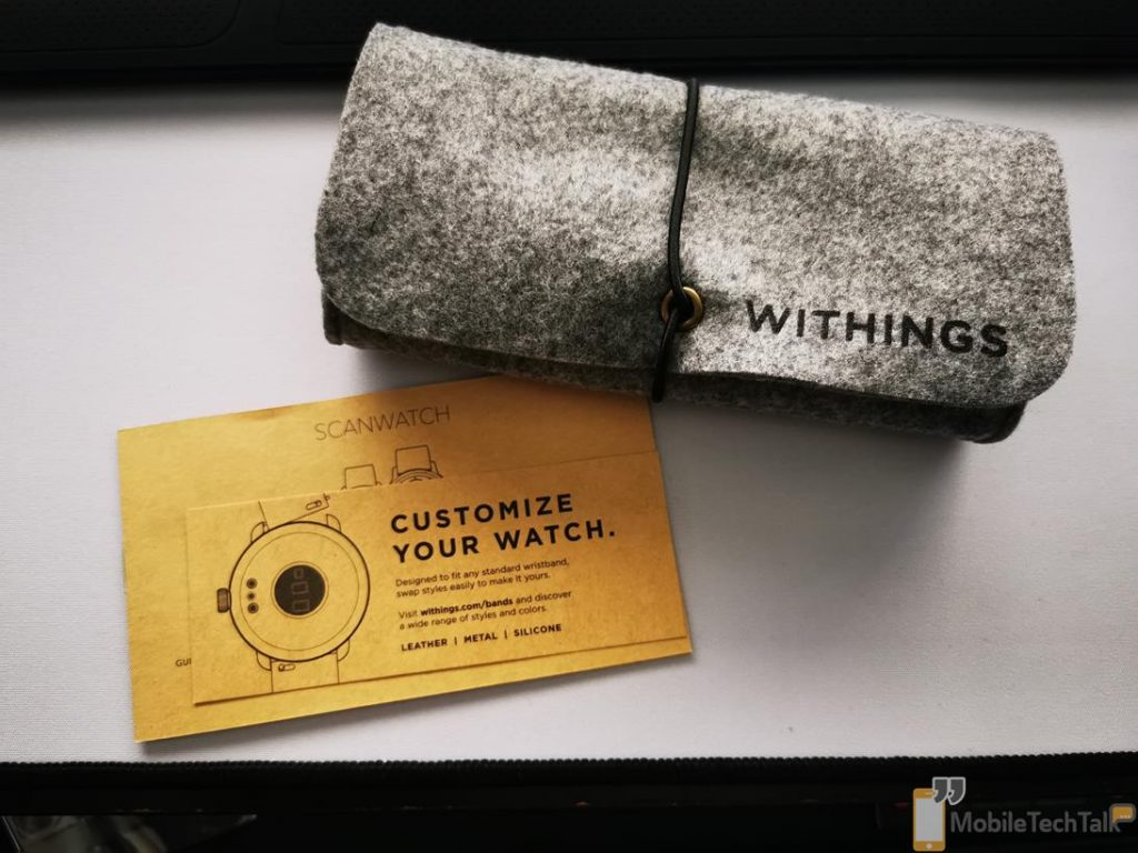 Withings ScanWatch pouch