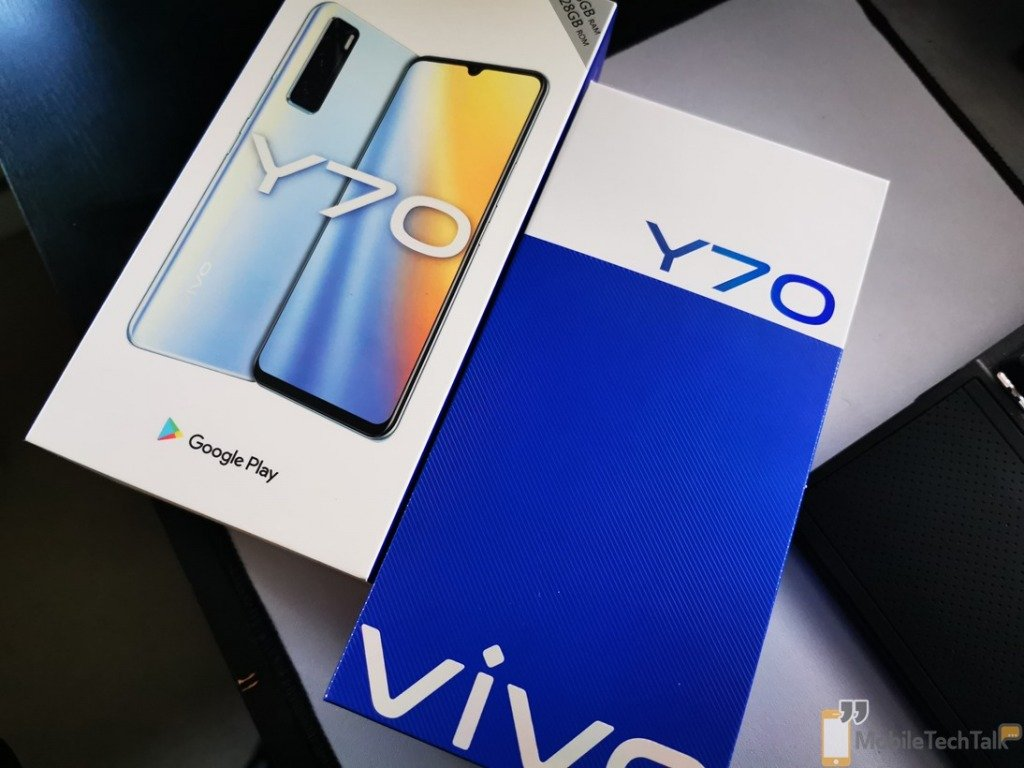 Vivo Y70 box