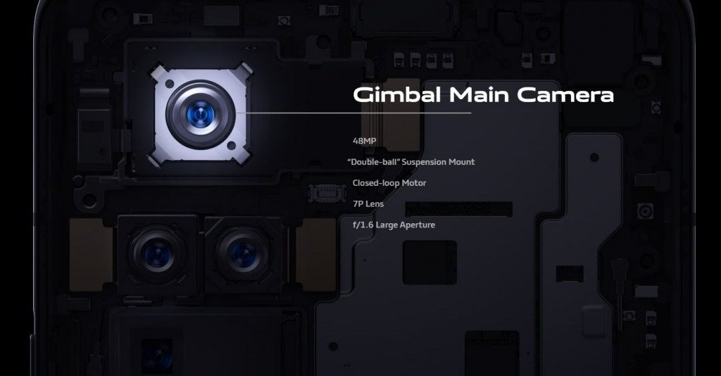 Gimbal OIS for Vivo X51 5G